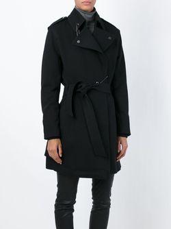 Пальто W-Ain Diesel                                                                                                              чёрный цвет