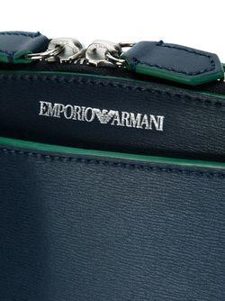 Сумка-Тоут Emporio Armani                                                                                                              синий цвет