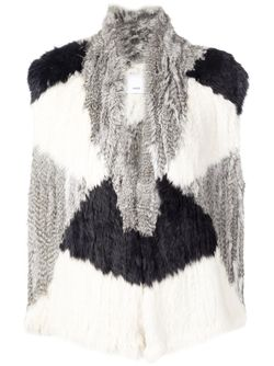 Rabbit Fur Gilet Vince                                                                                                              серый цвет