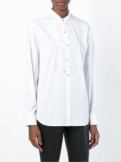 Рубашка С Рюшами Amen                                                                                                              белый цвет