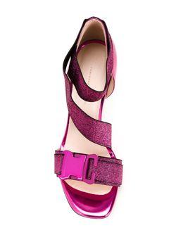 Босоножки С Декоративной Пряжкой Christopher Kane                                                                                                              розовый цвет
