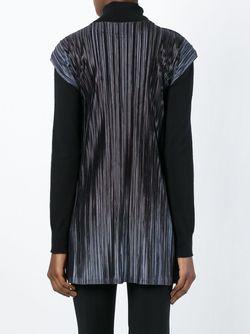 Гофрированная Блузка PLEATS PLEASE BY ISSEY MIYAKE                                                                                                              черный цвет