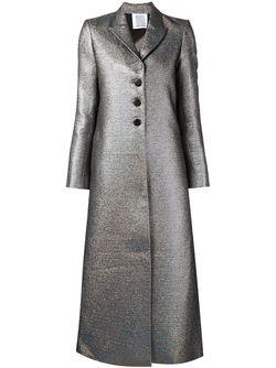 Удлиненное Пальто А-Силуэта Rosie Assoulin                                                                                                              серебристый цвет