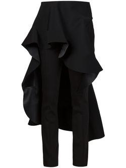 Брюки С Юбкой В Стиле Фламенко ESTEBAN CORTAZAR                                                                                                              черный цвет