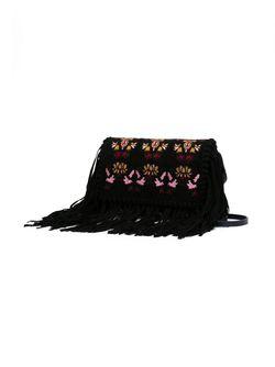 Сумка На Плечо Shiloh С Вышивкой Isabel Marant                                                                                                              черный цвет