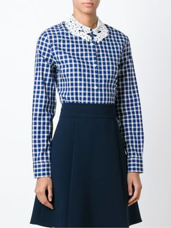 Рубашка В Клетку Vivetta                                                                                                              синий цвет