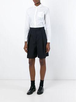 Рубашка С Воротником Питер-Пэн YMC                                                                                                              белый цвет