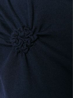 Вязаный Топ Без Рукавов Nina Ricci                                                                                                              синий цвет