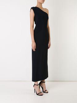 Платье На Одно Плечо SCANLAN THEODORE                                                                                                              чёрный цвет