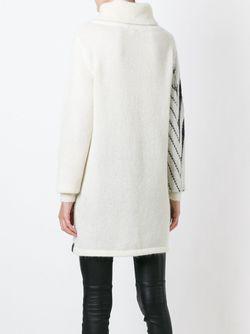 Свитер С Зигзагообразным Узором Y-3                                                                                                              белый цвет