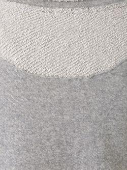 Флисовая Толстовка Bassike                                                                                                              серый цвет
