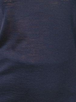 Легкая Футболка Maison Margiela                                                                                                              синий цвет