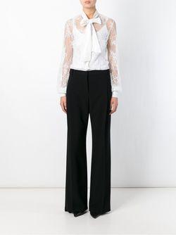 Кружевная Рубашка Ermanno Scervino                                                                                                              белый цвет