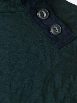 Жаккардовый Свитер-Водолазка Kolor                                                                                                              зелёный цвет