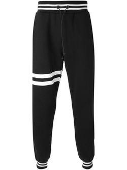 Striped Detail Track Pants Giuliano Fujiwara                                                                                                              чёрный цвет