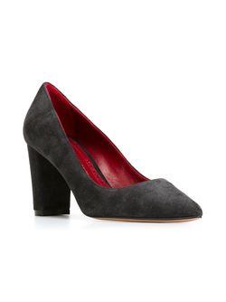 Туфли На Массивном Каблуке Jean-Michel Cazabat                                                                                                              серый цвет