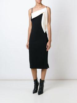 Платье С Открытым Плечом Antonio Berardi                                                                                                              черный цвет