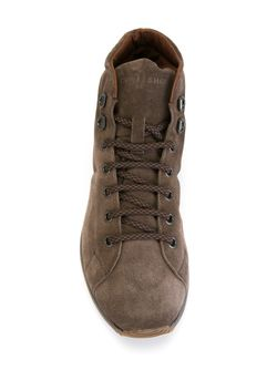 Lace-Up Boots Carshoe                                                                                                              коричневый цвет