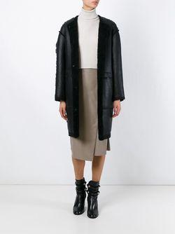 Двухстороннее Пальто Alison SPRUNG FRERES                                                                                                              чёрный цвет