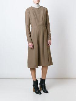 Longsleeved Midi Dress Carven                                                                                                              коричневый цвет