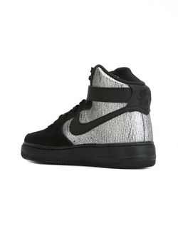 Хайтопы Air Force 1 Nike                                                                                                              чёрный цвет