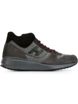 Кроссовки С Панельным Дизайном Hogan                                                                                                              серый цвет