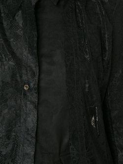 Кружевная Рубашка DEEP MOSS                                                                                                              чёрный цвет