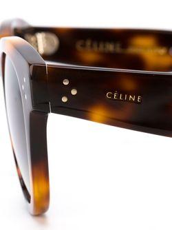 Солнцезащитные Очки Thin Preppy Céline                                                                                                              коричневый цвет