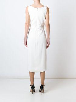 Платье С Драпированными Деталями Jason Wu                                                                                                              белый цвет