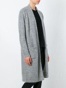 Длинный Кардиган By Malene Birger                                                                                                              серый цвет
