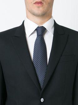 Галстук С Вышивкой Brioni                                                                                                              синий цвет