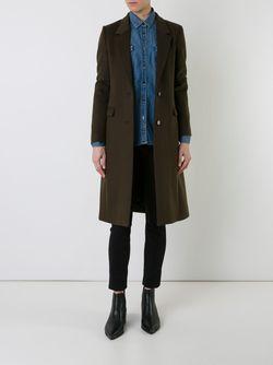 Однобортное Пальто GUILD PRIME                                                                                                              коричневый цвет