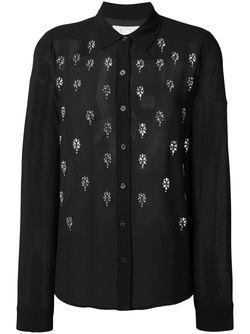 Beaded Shirt Michael Michael Kors                                                                                                              чёрный цвет