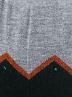 Вязаный Блейзер С Контрастным Подолом Kolor                                                                                                              серый цвет