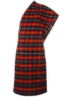 Платье В Клетку JEAN PAUL GAULTIER VINTAGE                                                                                                              красный цвет