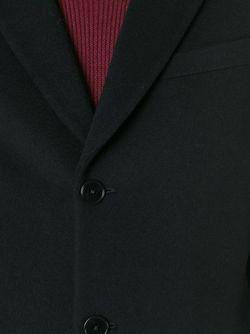 Классическое Однобортное Пальто PS PAUL SMITH                                                                                                              черный цвет