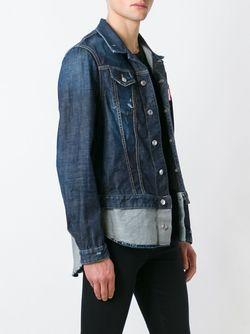 Джинсовая Куртка Dsquared2                                                                                                              синий цвет