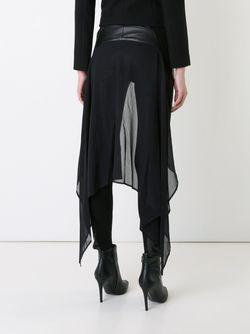 Chiffon Panel Skinny Trousers Gareth Pugh                                                                                                              черный цвет