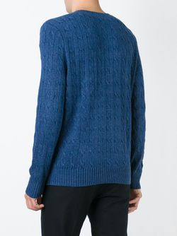 Cable Knit Sweater Polo Ralph Lauren                                                                                                              синий цвет