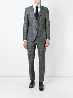 Checked Two Piece Suit Tagliatore                                                                                                              серый цвет