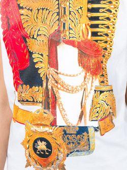 Майка С Принтом Dsquared2                                                                                                              белый цвет
