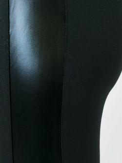 Леггинсы С Контрастными Полосками Norma Kamali                                                                                                              чёрный цвет