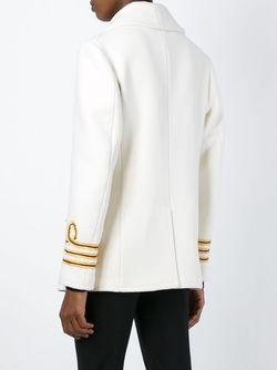 Двубортное Пальто Dsquared2                                                                                                              белый цвет