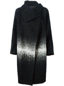 Пальто С Контрастным Рисунком DEMOO PARKCHOONMOO                                                                                                              чёрный цвет