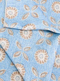 Шарф С Цветочным Узором Kiton                                                                                                              синий цвет