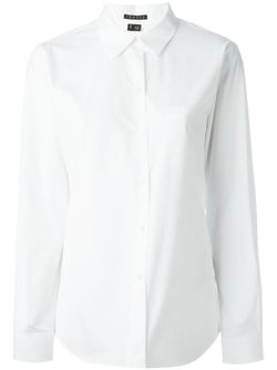 Рубашка С Нагрудным Карманом Theory                                                                                                              белый цвет