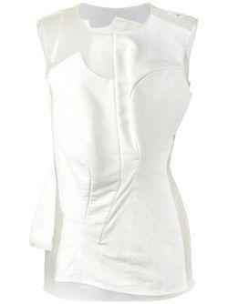 Топ Body Meet Dress Dress Meet Body Comme Des Garcons                                                                                                              Nude & Neutrals цвет