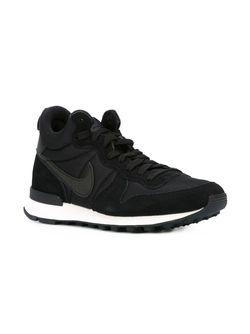Кроссовки Internationalist Nike                                                                                                              чёрный цвет