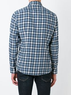 Checked Shirt Eleventy                                                                                                              синий цвет