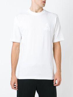 Футболка С Принтом Логотипа Сзади PALACE                                                                                                              белый цвет